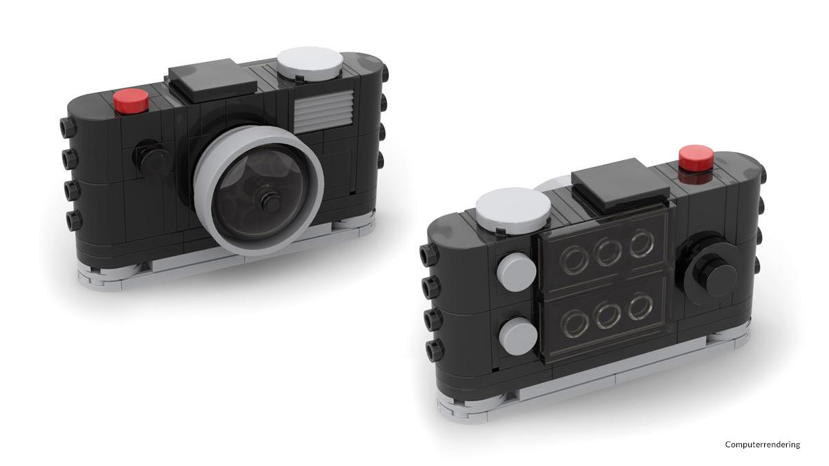 Digitalkamera aus Noppensteinen