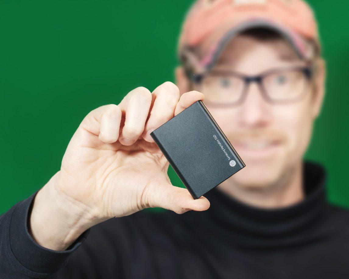 SSD Festplatte als Backup