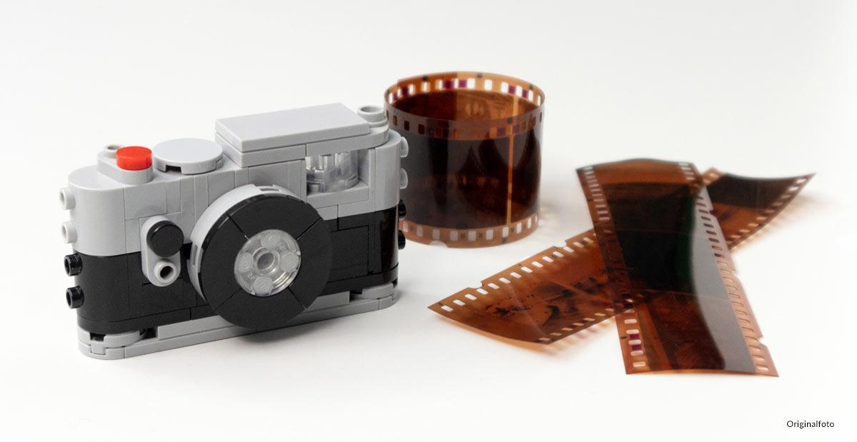 Kamera aus Noppensteinen